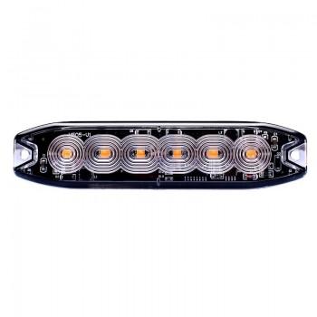 BARRA PEQ 6 LED 12/24V
