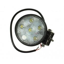 6 LED 1100 LUMEN 9-32V, 18W