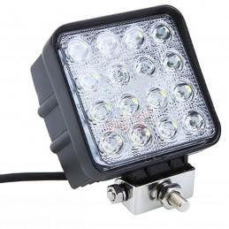 16 LED 48W 9-32V 3071Lm