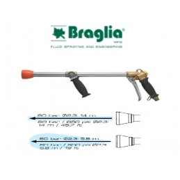 PISTOLA BRAGLIA TURBINA 60 BAR