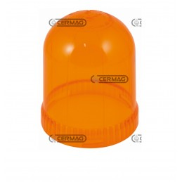 COPO de plástico cor laranja