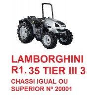 R1 35 TIER III 3  CHASSI IGUAL OU SUPERIOR  Nº 20001