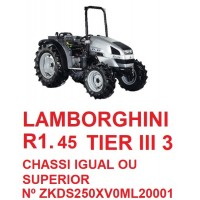 R1 45 TIER III 3 CHASSI IGUAL OU SUPERIOR ZKDS250XV0ML20001