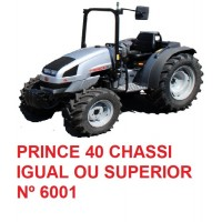 PRINCE 40 CHASSI IGUAL OU SUPERIOR Nº 6001