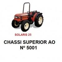 SOLARIS 25 CHASSI SUPERIOR AO Nº 5001