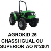 AGROKID IGUAL OU SUPERIOR AO CHASSI Nº 2001