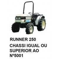 RUNNER 250 CHASSI IGUAL OU SUPERIOR Nº5001