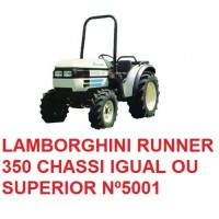 RUNNER 350 CHASSI IGUAL OU SUPERIOR Nº 5001