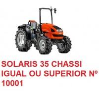 SOLARIS 35 CHASSI IGUAL OU SUPERIOR Nº 10001