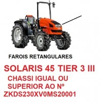 SOLARIS 45 TIER 3 III CHASSI IGUAL OU SUPERIOR Nº ZKDS230XV0MS20001