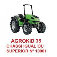 AGROKID 35 CHASSI IGUAL OU SUPERIOR N 10001